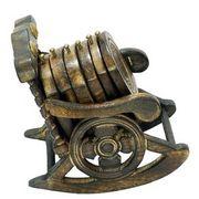 Wooden Chair Coaster Set