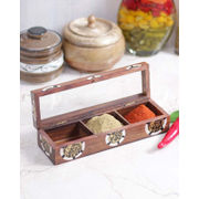 Handcrafted Spice Box
