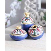 Blue Warli Miniature Set