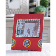 Red Handpainted Photoframe