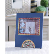 Blue Handpainted Photoframe