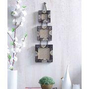Wooden Hanging Photo Frame Set