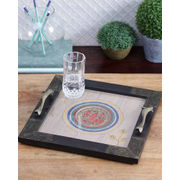 Ethnic Dhokra Work Tray