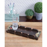 Handcrafted Antique Runner Tray