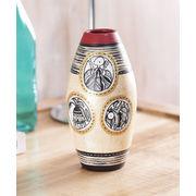 Simmer Gold terracotta Vase