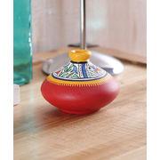 Terracotta Red Flat Earthen Pot
