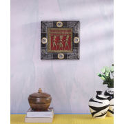 Ethnic Wooden Dhokra Wall Hanging