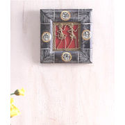 Handmade Wooden Dhokra Wall Hanging