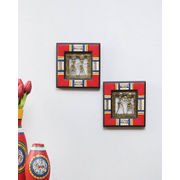Handcrafted Red Wall D
