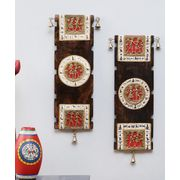 Dhokra Wall Hanging Set of Two
