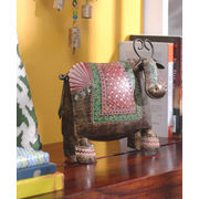 Rajasthani Multicolord Cow Decorative