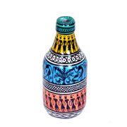 Warli Tribal Handpainted Bottle Vase