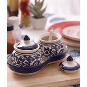 Blue Pickle Duo Jars Set