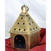 Antique Star Hut Tea Lite decorative