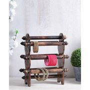 Handcrafted Wooden Bangle Stand