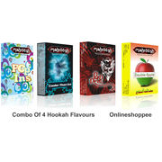 Onlineshoppee combo pack of 4 hookah flavours