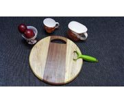 Onlineshoppee Sheesam &  Pine  Wood Best Quality Kitchen Chopping Board  Size(LxBxH-12x12x1) Inch