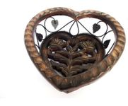 Onlineshoppee  Wooden & Iron Hand Made Beauiful Decorative Fruit & Vegetable Basket