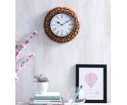 Wooden Antique  Tree Trunk Wooden Wall Clock