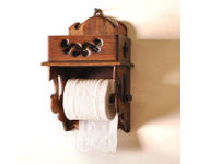 Onlineshoppee Wooden Beautiful Design 2 Compartments Tissue Box & Napkin Holder