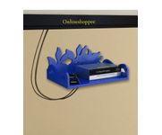 Onlineshoppee MDF Beautiful Design Set top box Wall Shelf Colour- Blue