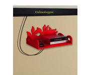 Onlineshoppee MDF Beautiful Design Set top box Wall Shelf Colour- Red