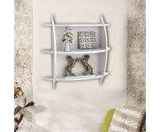 Onlineshoppee Beautiful  3 Tier MDF Wall Shelves/Rack Size LxBxH-20x4x19 Inch - White