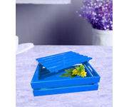 Onlineshoppee Hand-crafted Premium Quality MDF Fruit & Vegetable Tray - Sky Blue