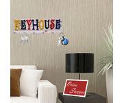 Onlineshoppee Wooden Colourful Keyhouse key holder