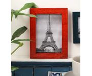 Onlineshoppee Red Mango Wood  Photo Frame