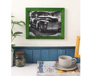 Onlineshoppee Green Mango Wood Photo Frame