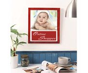 Onlineshoppee Magenta Mango Wood Photo Frame