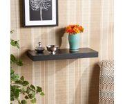 Onlineshoppee Floating Wall Shelf 24 Inches (Black)