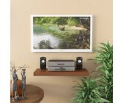 Onlineshoppee Floating Wall Shelf 24 Inches (Brown)
