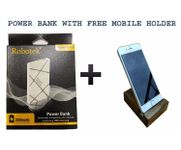 Onlineshoppee Robotek 3000 mAh Power Bank RP03 With Free Mobile Holder