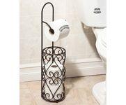 Onlineshoppee Wrought Iron Hierro Kitchen Toilet Tissue Roll Dispenser Napkin Holder