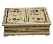 WOODEN HAND CARVED HOLY BOOK STAND AND BOX FOR QURAN,BIBLE,GITA,VED ,GURU GRANTH SAHIB