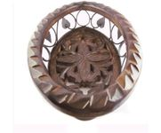Wooden & Iron Fruit Basket Oval Shape