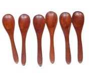 Wooden Soup Spoons Set