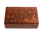 Wooden Jewellery  Box With Classic Brass Work