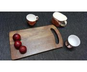 Onlineshoppee Sheesam Wood Best Quality Kitchen Chopping Board  Size(LxBxH-15X8x1) Inch