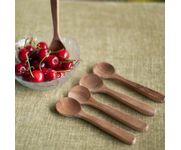 Onlineshoppee Fancy Design Kitchen Ware Wooden Sugar Spoon Set Size(lxbxh-5.3x1.4x0.4) Inch
