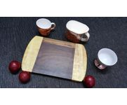 Onlineshoppee Sheesam & Pine  Wood Best Quality Beautiful Design Kitchen Chopping Board  Size(LxBxH-12x8x1) Inch