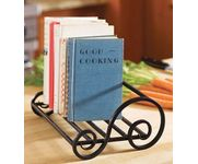 Onlineshoppee Table Top Wrought Iron Magazine Holder Size (LxBxH-10.5x9.5x6) Inch