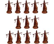 Family Pack of 13 Pc Handmade Wooden Nose Shaped Specs Stand Spectacle Holder