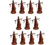 Family Pack of 11 Pc Handmade Wooden Nose Shaped Specs Stand Spectacle Holder