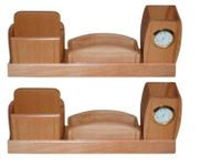Wooden  Big Mobile,Letter,Pen holder with Watch,Pack Of 2