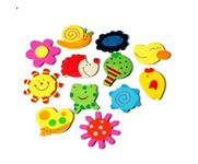 Onlineshoppee Wooden funny cartoon magnets can decorates your fridge and make your room decor