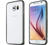 Onlineshoppee Bumper Case for Samsung Galaxy S6 Sm-G920i Black