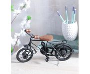 Onlineshoppee Hand Crafted Miniature Iron Bicycle